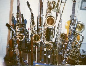 Dr. Dave's Saxes and other instruments
